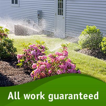 Lawn Sprinkler System Image